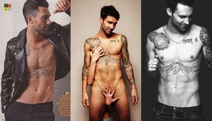 Las mejores fotos de Adam Levine desnudo