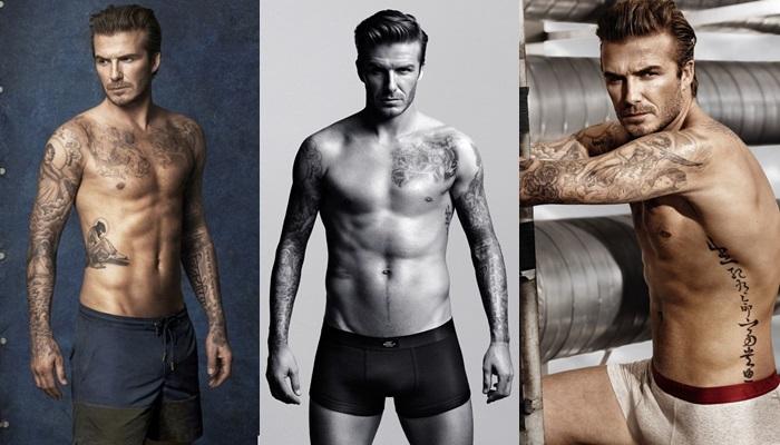 Las mejores fotos de David Beckham desnudo