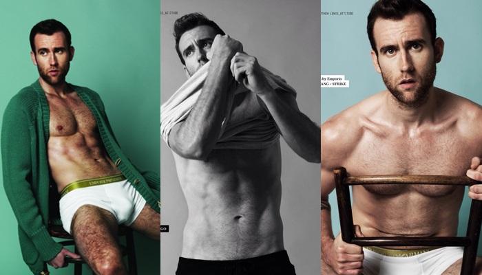 Matthew Lewis, actor de Neville Longbottom, se desnuda en una entrevista