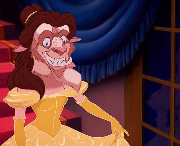 ¡Alucina con la mezcla de los príncipes y princesas Disney!