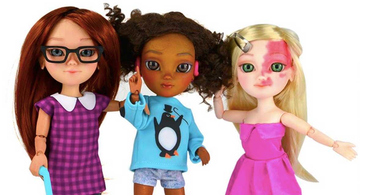 Crean muñecos con discapacidades gracias a una campaña de Facebook