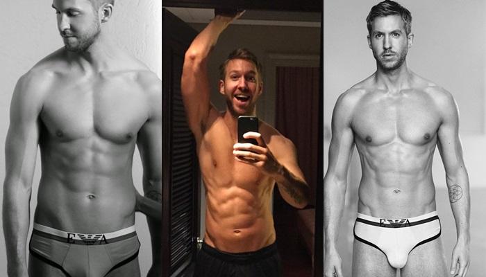 Las mejores fotos de Calvin Harris desnudo