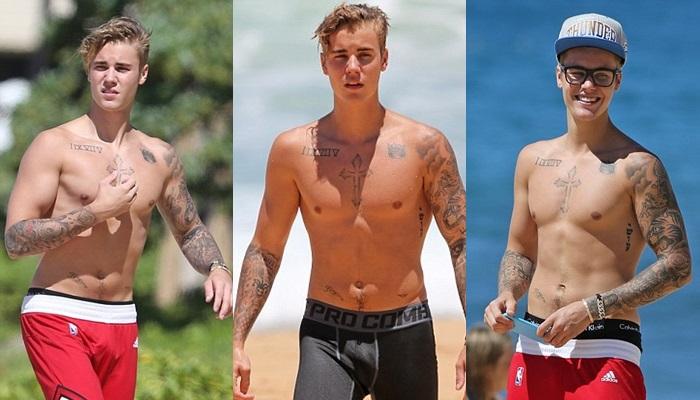 Las mejores fotos de Justin Bieber desnudo en Hawaii