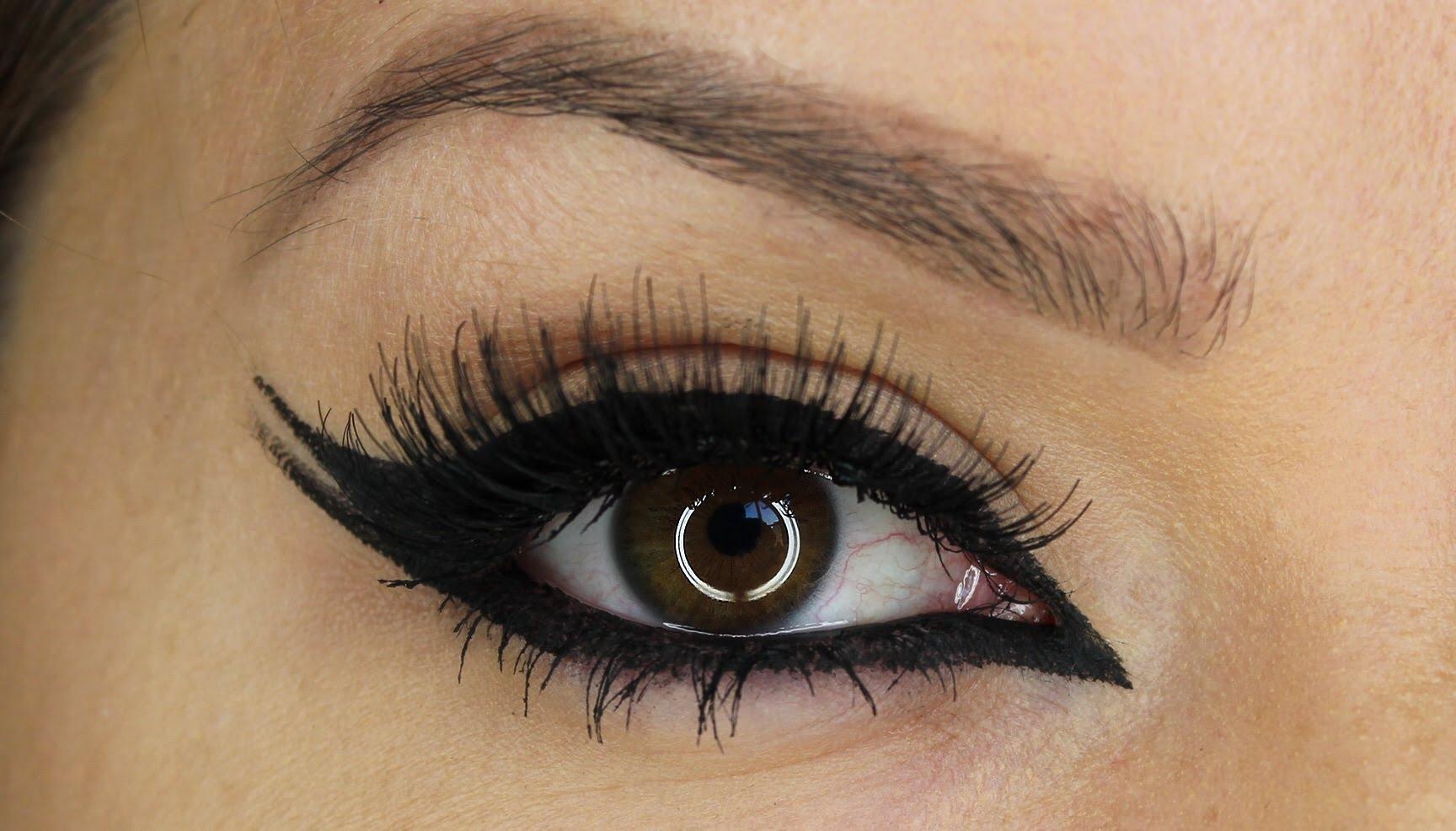¿Cómo debe ser el eyeliner según la forma del ojo?