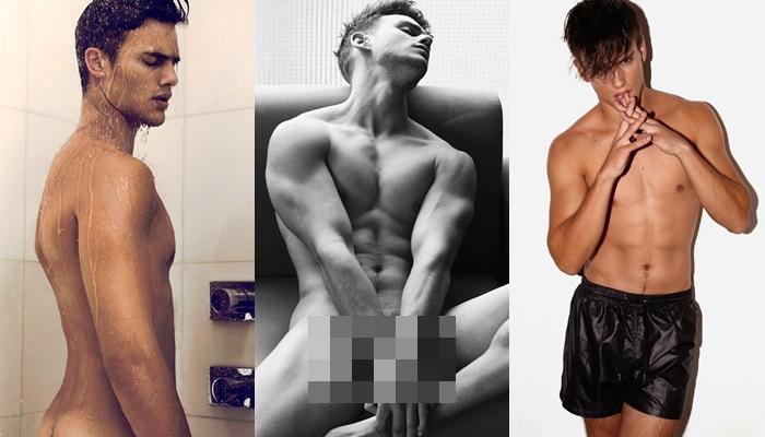 El modelo que desfil desnudo en Nueva York Shangay