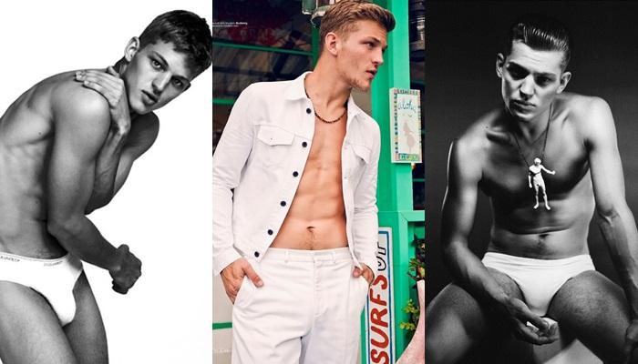 Las mejores fotos de Sebastian Sauve desnudo