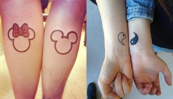 Los 15 mejores tatuajes para hacerte en pareja