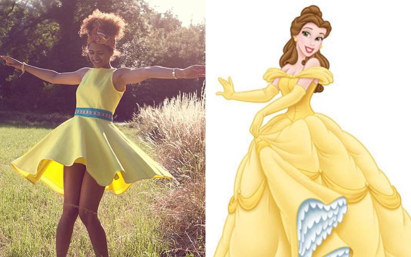 ¿Cómo vestir como una princesa Disney?