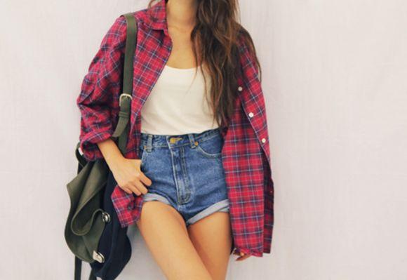12 formas de llevar una camisa de cuadros