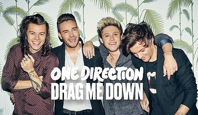 One Direction estrena su nuevo single, 'Drag me down'