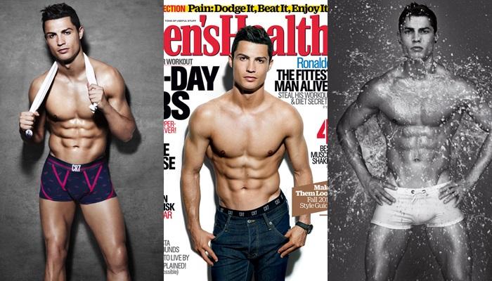 Las mejores fotos de Cristiano Ronaldo desnudo