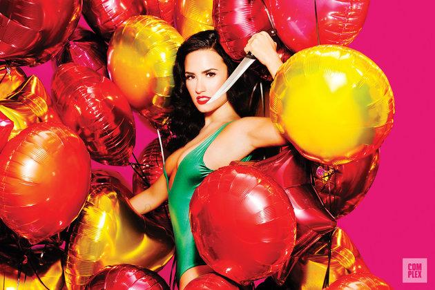 Demi Lovato se desnuda para la revista Complex