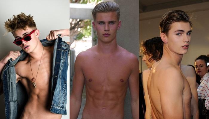 Las mejores fotos de Sam Harwood desnudo