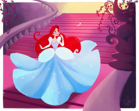 ¿Qué pasaría si las princesas de Disney cambiasen sus vestuarios?