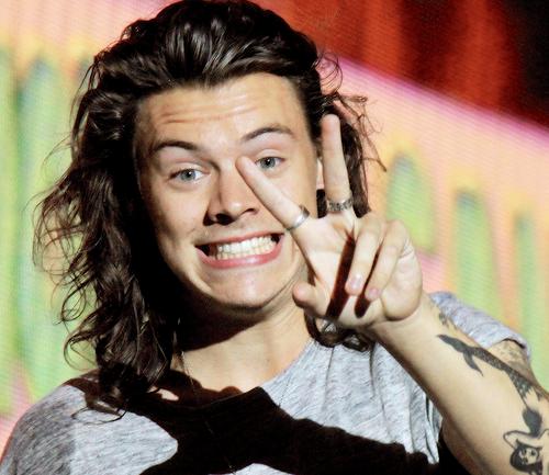 Una fan golpea a Harry Styles en la cara durante un concierto