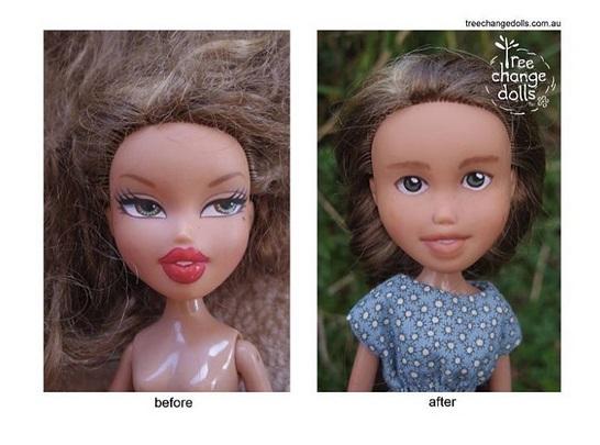 ¡Una mujer convierte a muñecas Bratz en mujeres heroínas!