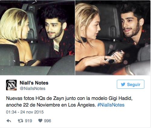 ¿Zayn Malik y Gigi Hadid están juntos?