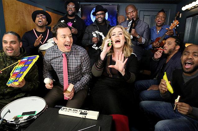 Jimmy Fallon y Adele lo petan en Youtube con esta versión de Hello