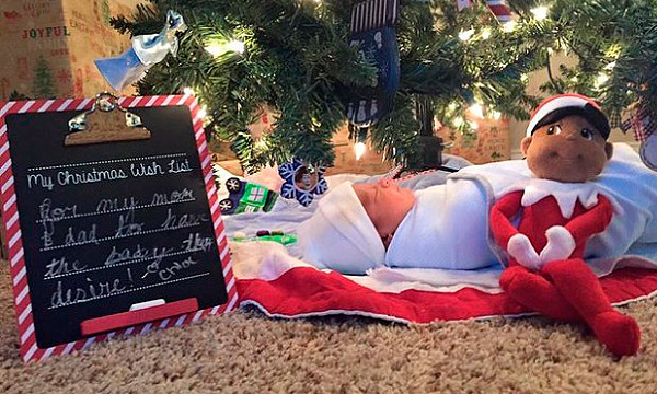 El regalo de estas Navidades es... ¡UN HERMANO NUEVO!