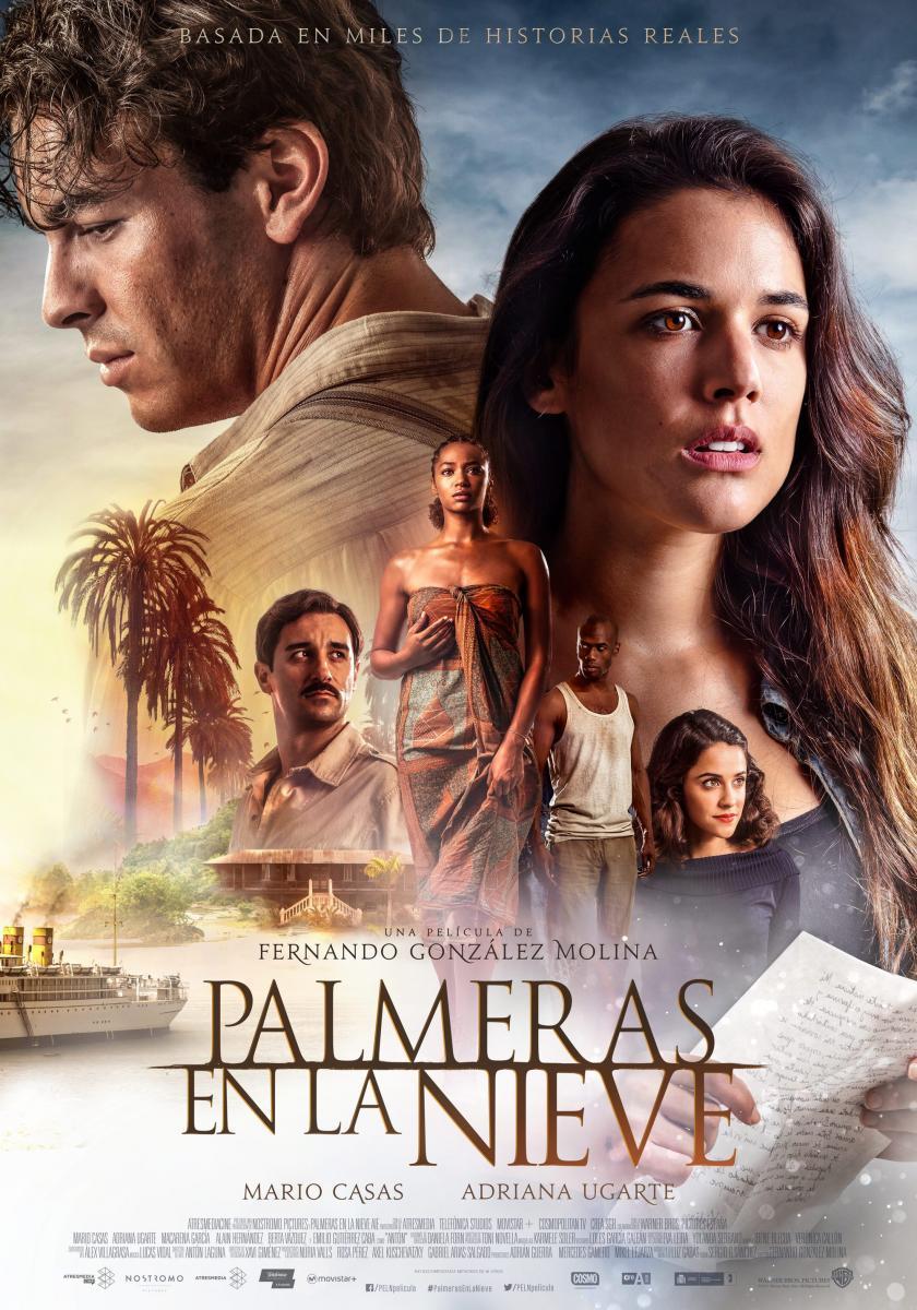 """""""Palmeras en la nieve"""" es el segundo mejor estreno español del año"""