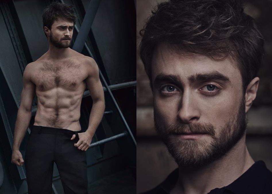 Daniel Radcliffe desnudo: ¡menudo cambio!