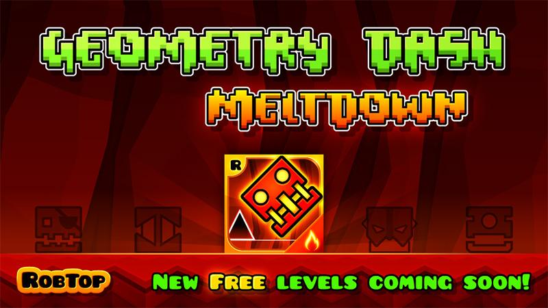 Si no conoces el Geometry Dash Meltdown, ya estás tardando