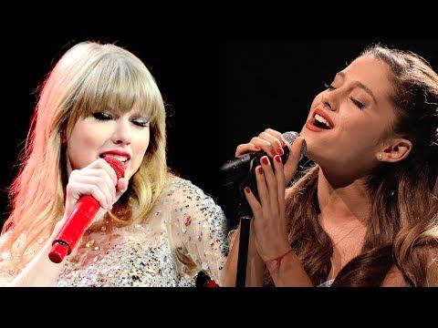 Se rumorea que Taylor Swift puede colaborar con Ariana Grande en su próximo disco