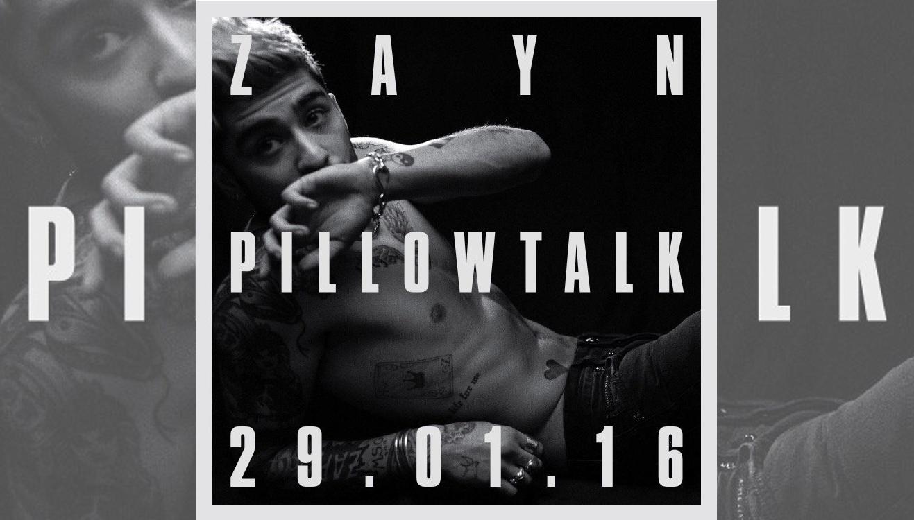'Pillowtalk', el nuevo single de Zayn Malik ¡ya tiene fecha!