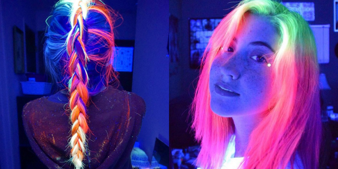 El pelo que brilla en la oscuridad