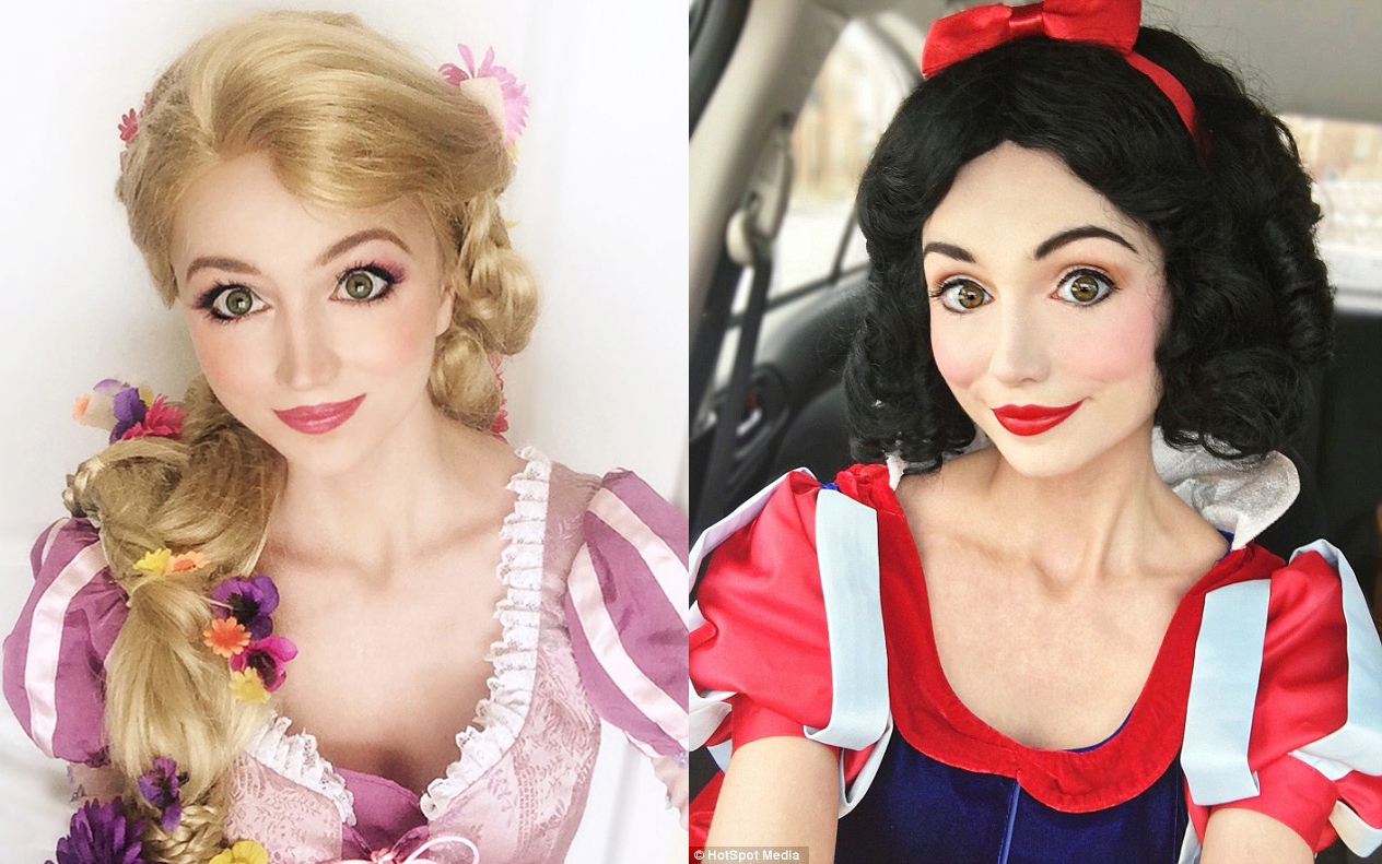 Esta chica gasta miles de dólares en parecerse a las princesas Disney, WTF?