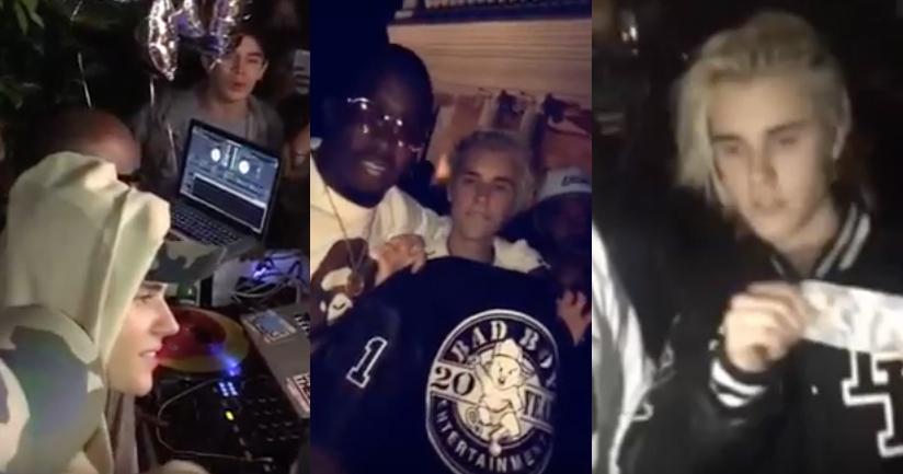 ¡Así fue la salvaje fiesta de cumpleaños de Justin Bieber!