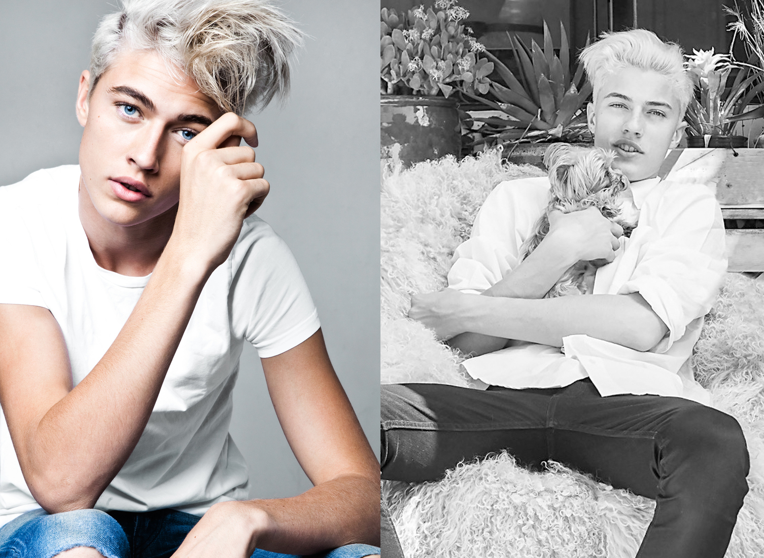 Las fotos más hot de Lucky Blue Smith, ¡el chico de moda!