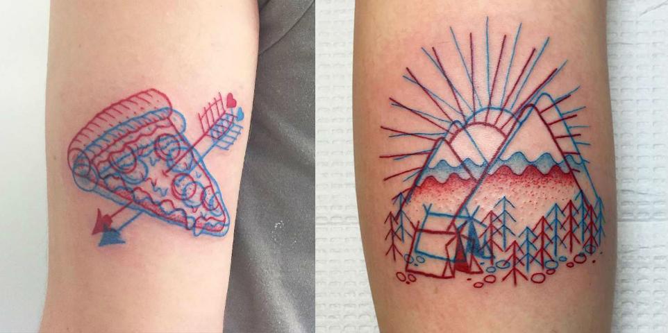 Así son los nuevos tatuajes 3D