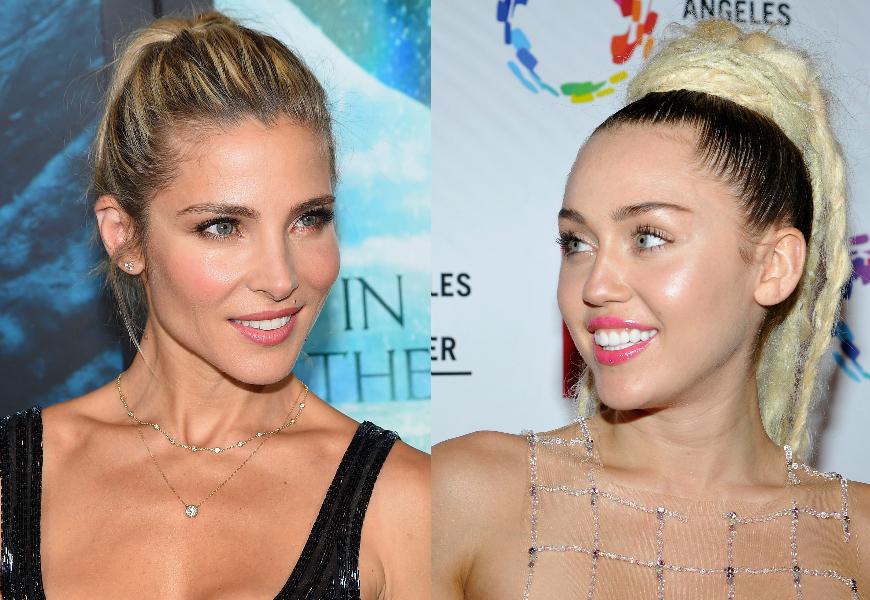 Miley Cyrus y Elsa Pataky: ¡mira lo que han hecho juntas!