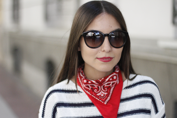 5 looks ideales con bandana