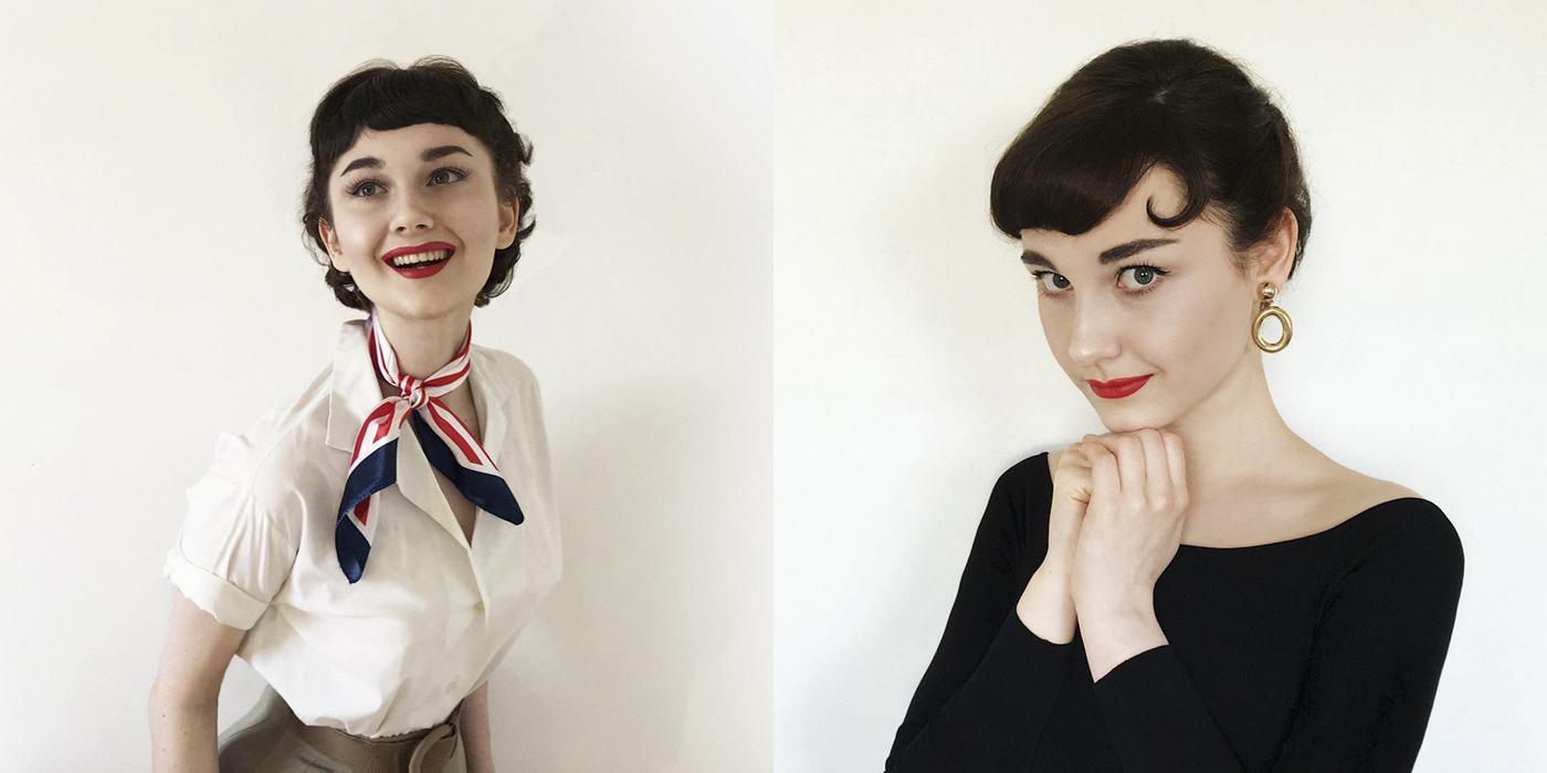 Esta chica puede recrear cualquier look vintage, ¡y los adorarás todos!