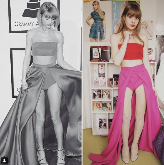 ¡Flipa con la fan de Taylor Swift capaz de imitar todos sus looks!