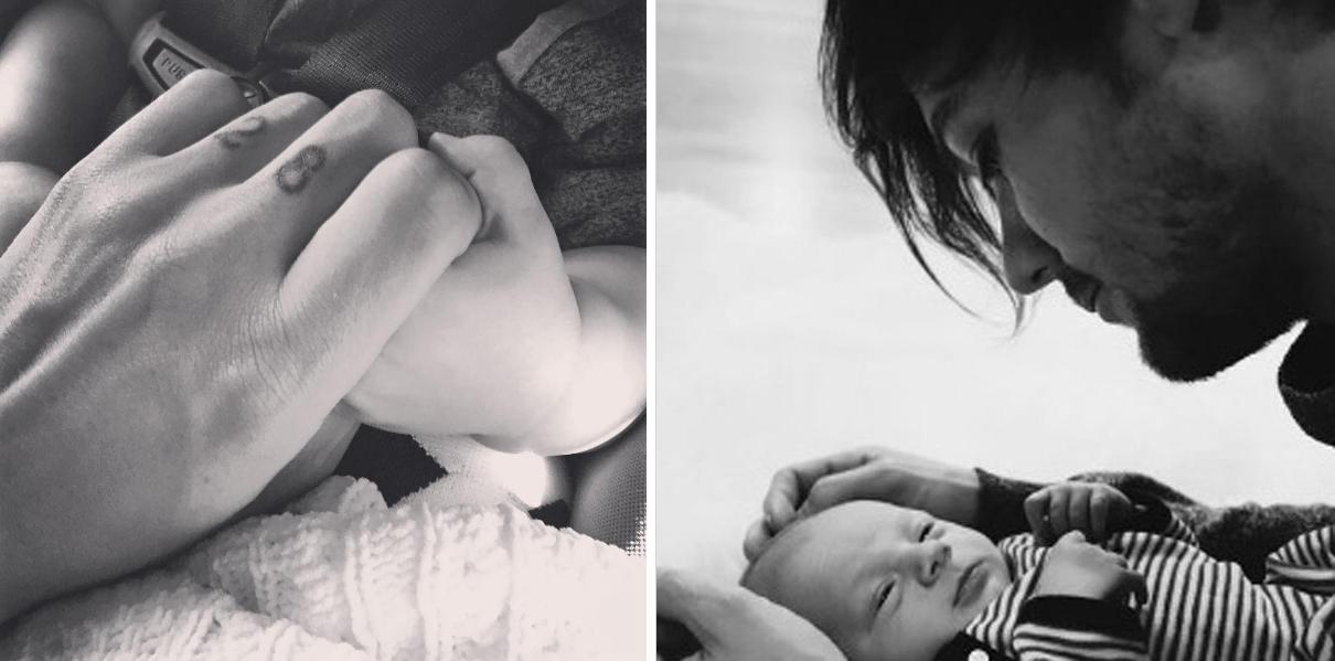 Mira cómo celebró Louis su primer Día del Padre