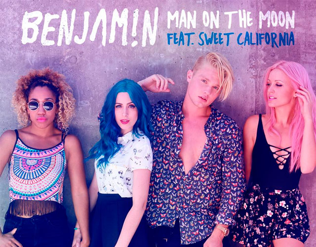 Benjamin y Sweet California ya tienen vídeo para 'Man on the moon'