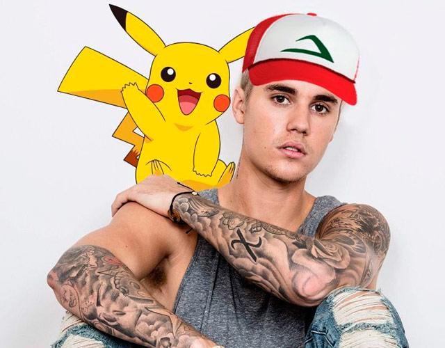Justin Bieber, adicto a Pokémon Go