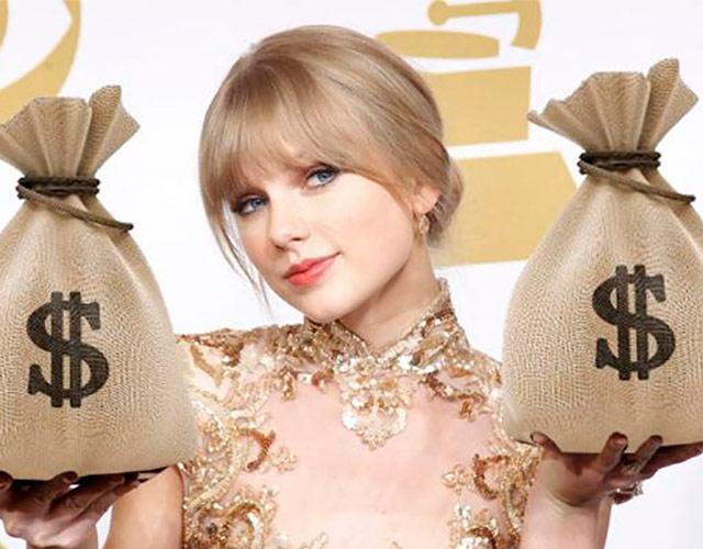 Taylor Swift, la famosa mejor pagada del año por encima de One Direction