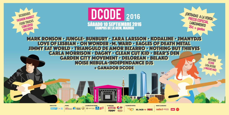 DCODE 2016, un planazo para despedir el verano