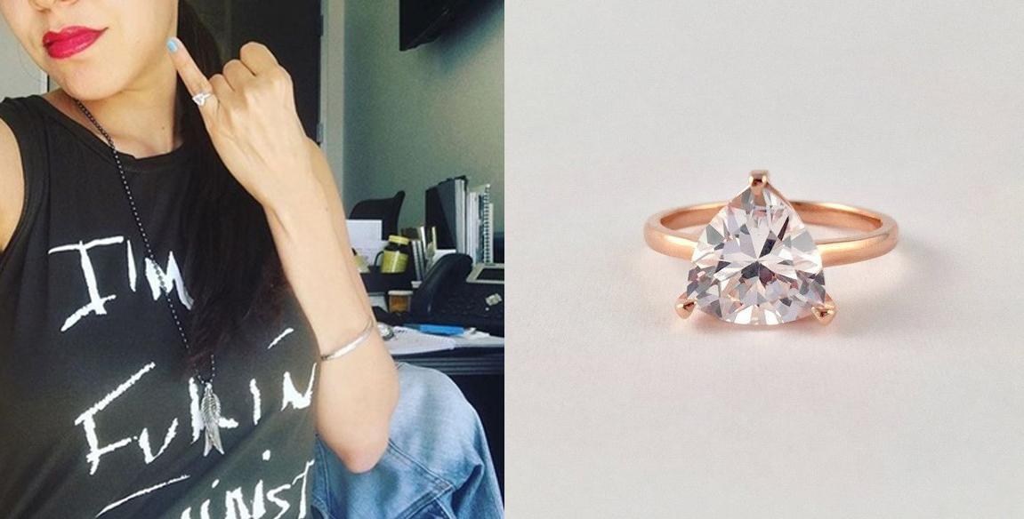 ¿Qué significan los anillos del meñique que arrasan en Instagram?