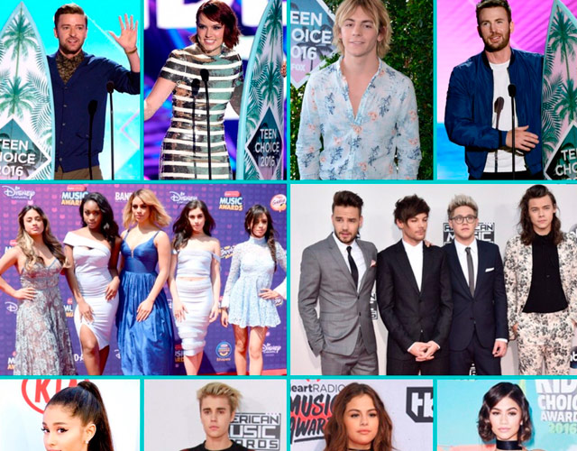 Ganadores de los Teen Choice Awards 2016