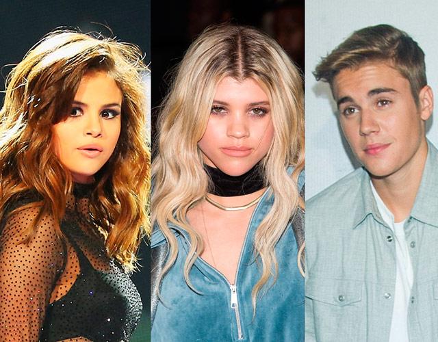 Ataque de celos en el triángulo Justin Bieber - Sofía Richie - Selena Gómez