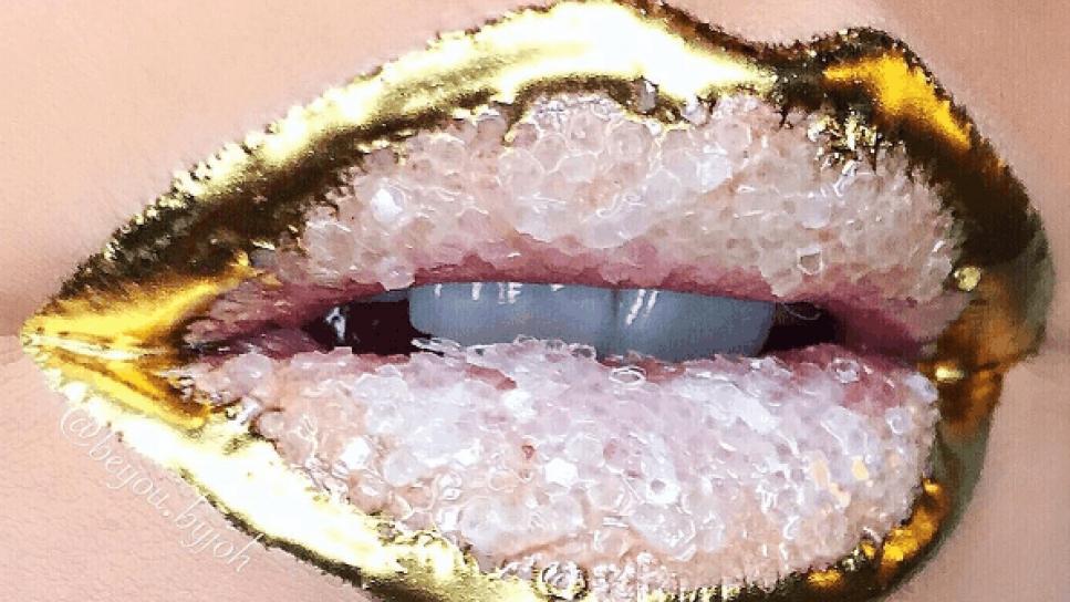 Labios crystalized: la última moda en maquillaje desde NY