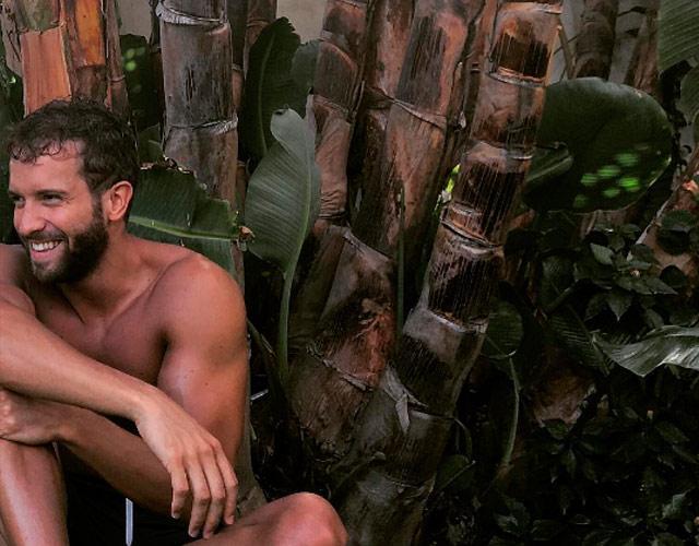 Pablo Alborán sin camiseta, mojado y sexy en Instagram
