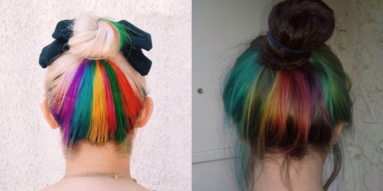 Llega desde Londres el 'arcoíris oculto', la tendencia que arrasa en Instagram