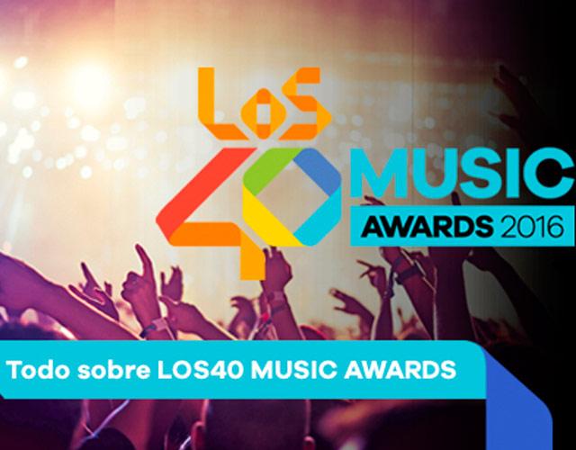 Nominados a Los 40 music awards 2016