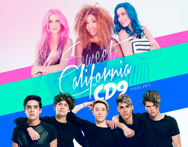 Sweet California y CD9 cantan juntos 'Vuelves'